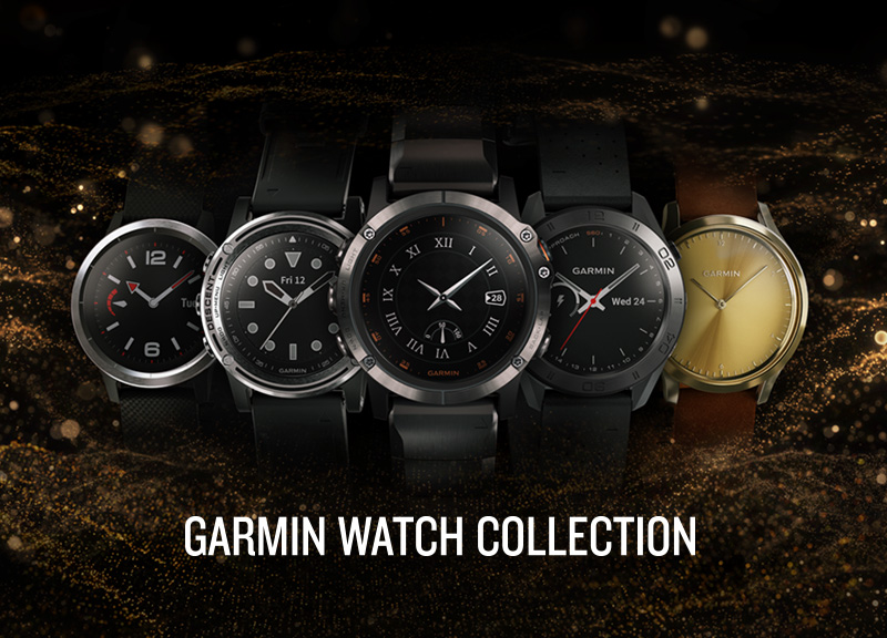Garmin Watch Collection
