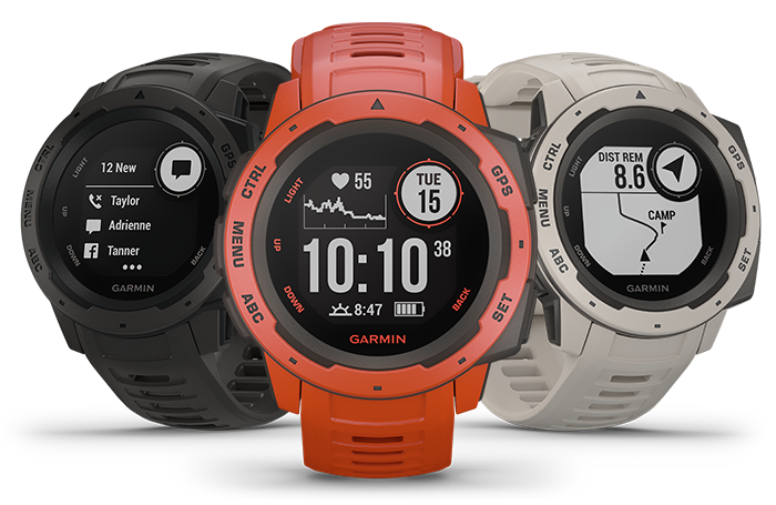 Instinct - Rugged, Outdoor GPS watch