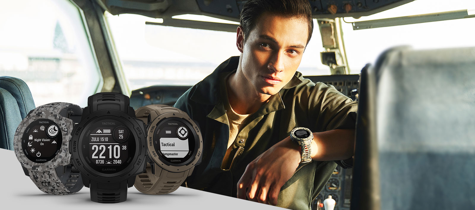 Instinct Series - Tactical edition , outdoor gps watch