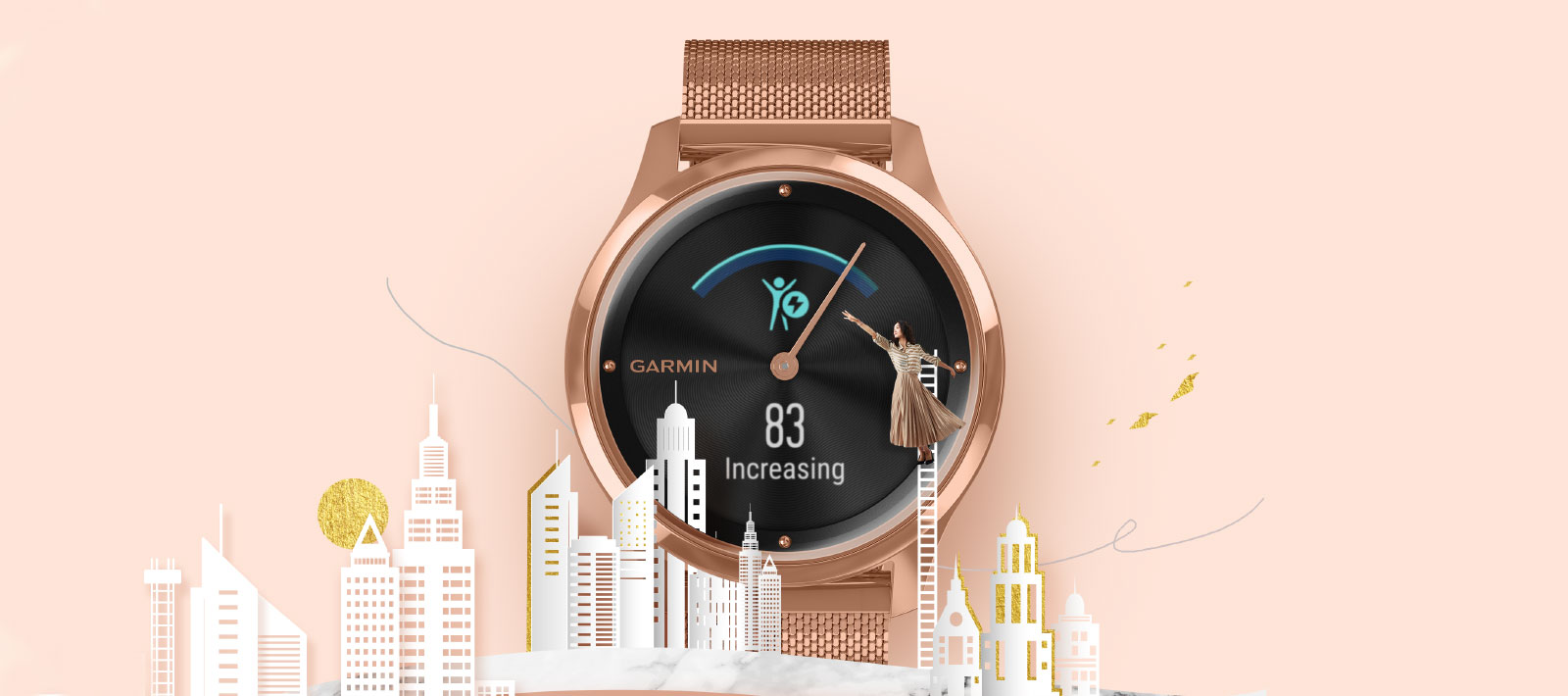 vívomove Series - Hybrid Smartwatch