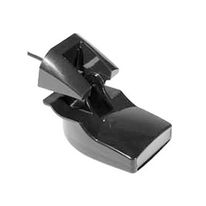 Plastic Transom Mount Transducer with Depth & Temperature (Dual Frequency, 8-pin)