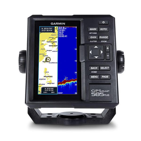 GPSMAP 585 Plus | Marine | Products | Garmin | India | Home