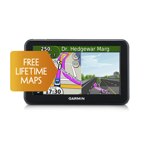 nuvi 50LM (India) | Discontinued | Products | Garmin | India | Home