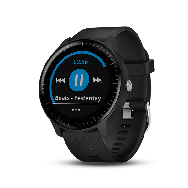 Black Slate Band : Vívoactive music wearables products garmin india