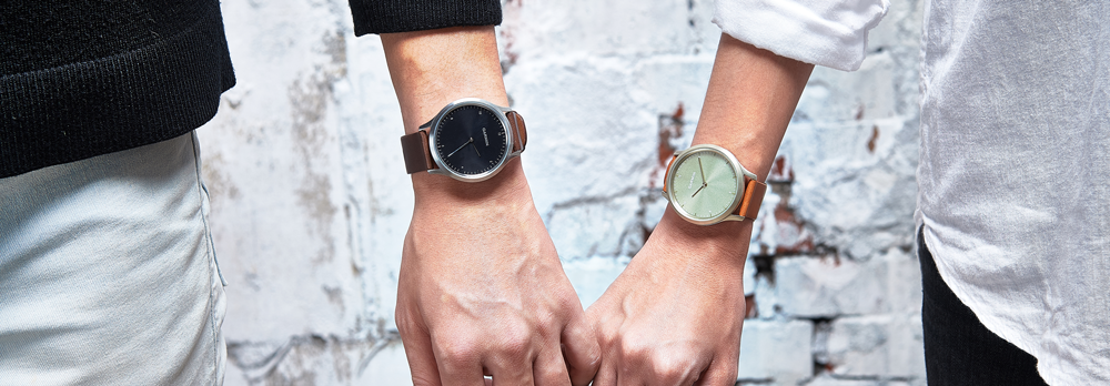 a87c60e8b6 Fashionably fit is just a tap away with vívomove HR. This stylish hybrid  smartwatch features a touchscreen with a discreet display. Precision hands  show the ...